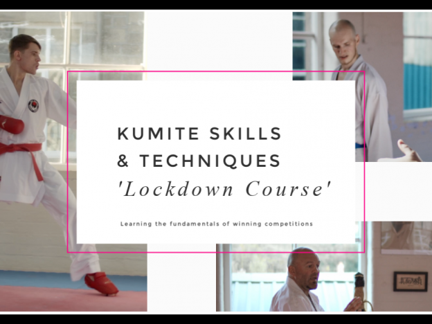 KUMITE Skills & Techniques 'Lockdown Course' course image