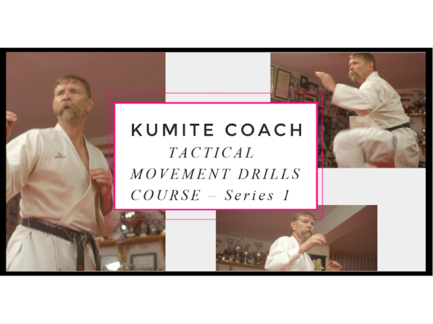 KUMITE COACH - TACTICAL MOVEMENT DRILLS COURSE - Series 1 course image